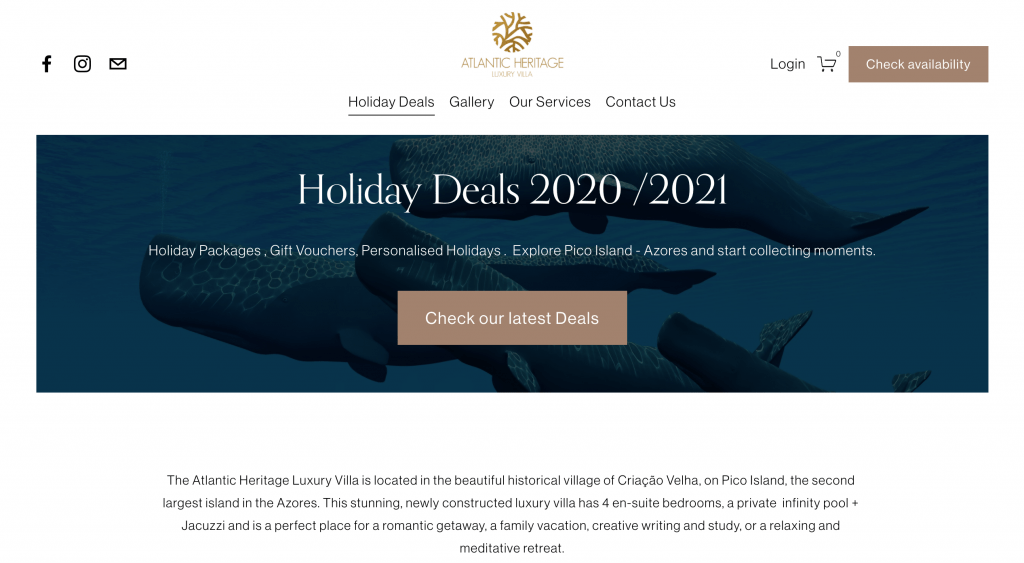 Holiday Deals 2020/2021